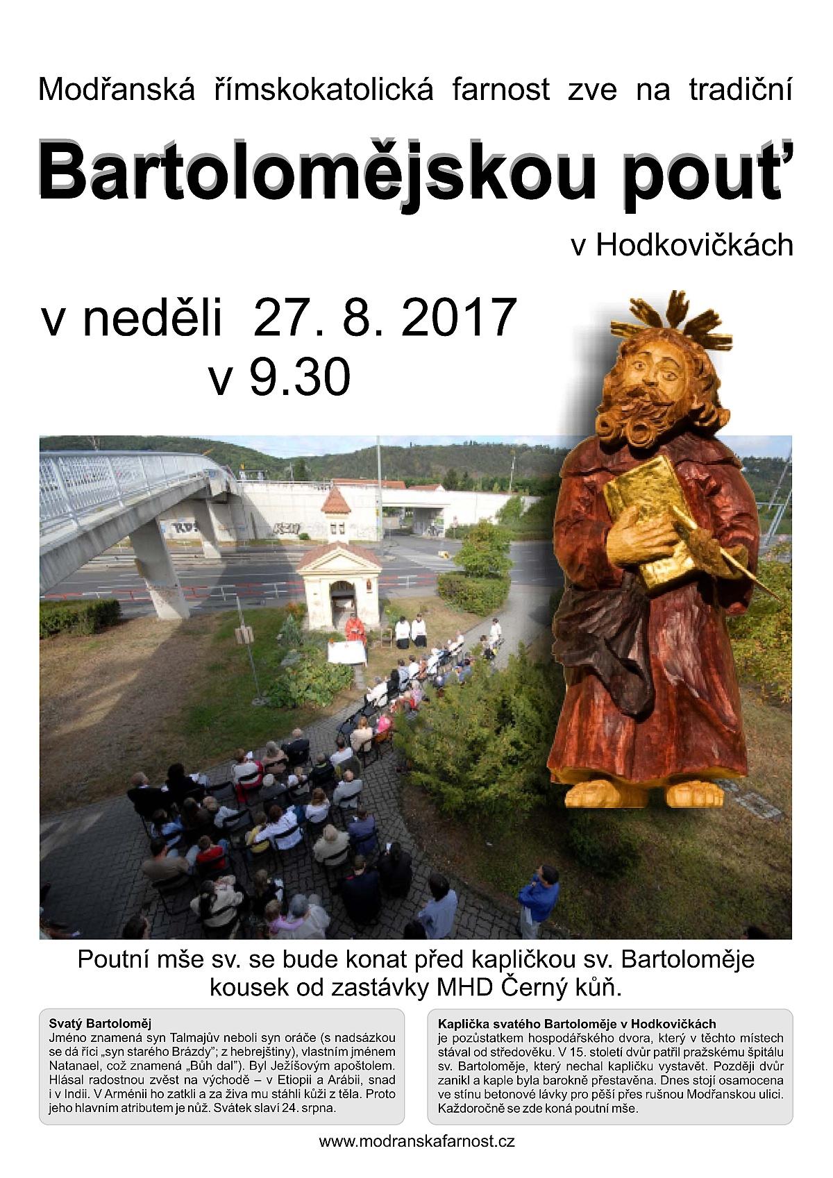 Bartoloměj 2017