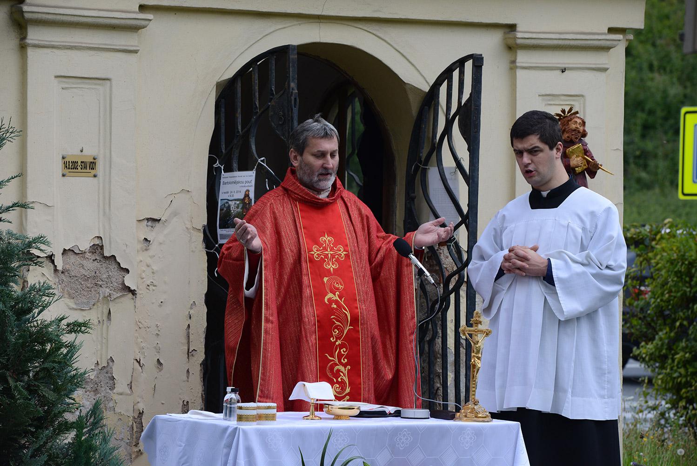 Pouť u kaple sv. Bartoloměje